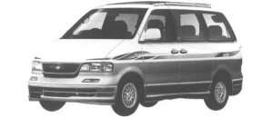 Nissan Largo HIGHWAY STAR II (2WD GASOLINE 2400) 1998 г.