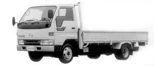 Hino Ranger 2 STANDARD CABIN LONG 1998 г.