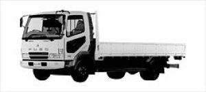 Mitsubishi Fighter NX FOUR-CYLINDER, TURBO Truck 2003 г.