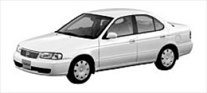 Nissan Sunny 1500 Super Saloon (2WD) 2003 г.