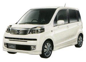 Honda Life DIVA (FF) 2014 г.