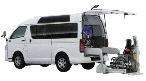 Toyota Hiace Welcab, Wheelchair-accessible Vehicle (Rear Lift type) B Type 2014 г.