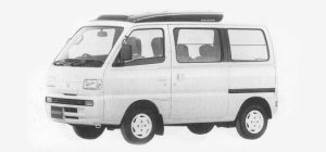 Suzuki Every TURBO RZ SUPER MULTI ROOF 1993 г.
