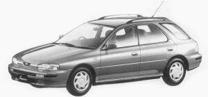 Subaru Impreza 4WD SPORT WAGON 1.8L HX 1993 г.
