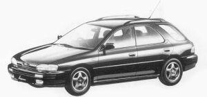 Subaru Impreza 4WD SPORT WAGON 1.8L HX EDITION-S 1993 г.