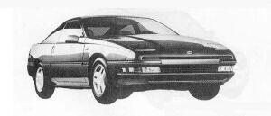 Mazda Ford Probe 3000 V6 LX 1990 г.
