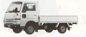 Nissan Atlas 1.0T SUPER LOW STEEL 1990 г.