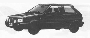Nissan March 3DOOR HATCH BACK SUPER TURBO 1990 г.