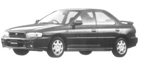 Subaru Impreza HARD TOP SEDAN SX 1997 г.