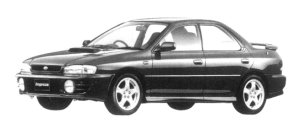 Subaru Impreza PURE SPORTS SEDAN WRX 1997 г.