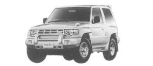 Mitsubishi Pajero METAL TOP WIDE ZR-S 1997 г.