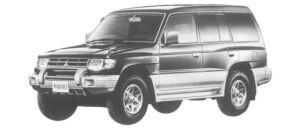 Mitsubishi Pajero MID ROOF WIDE GX 1997 г.