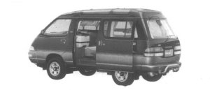 Toyota Townace 4WD Super Extra 1995 г.
