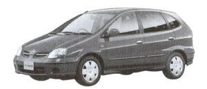 Nissan Tino 5 Passenger NAVI EDITION 2002 г.