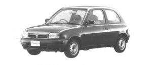 Nissan March 3 DOORS 1000i z 1994 г.