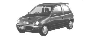Mazda Autozam CAROL TURBO f 1994 г.