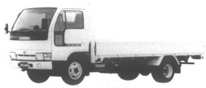 Nissan Atlas 2T HIGH ROOF FULL SUPER LOW DOUBLE TIRE 1994 г.