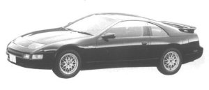 Nissan Fairlady Z VERSION S 2BY2 T BAR ROOF SRS 1994 г.