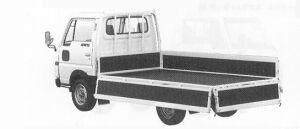 Nissan Atlas 4WD 1.5T LONG, FULL SUPER LOW 1991 г.