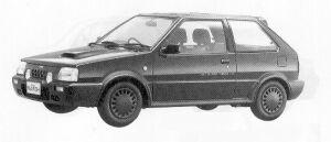 Nissan March 3DOOR HATCH BACK SUPER TURBO 1991 г.