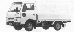 Nissan Atlas 1.0T SUPER LOW, STEEL, SINGLE TIRE 1991 г.