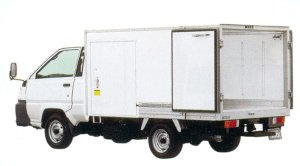 Toyota Townace Truck Moderate Temperature Refrigeration Truck 2005 г.