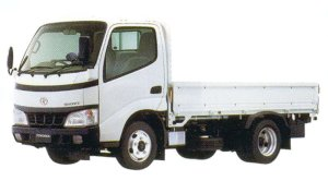 """Toyota Toyoace CARGO 2WD, Standard Cab, Standard Deck, Full Just Low, 2.0ton """"S Package"""" 2005 г."""