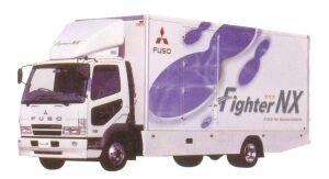 Mitsubishi Fuso  Fighter NX D-VAN (DRY) Truck 2005 г.