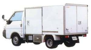 Nissan Vanette Truck Color Aluminum Moderate Temperature Refrigerating Car, Longbody 2005 г.