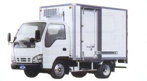 Isuzu Elf Smoother-e, Flat Low, Refrigerating truck 2005 г.