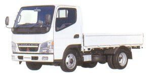 Mitsubishi Fuso CANTER  All Low Floor, Standard Body Truck 2005 г.