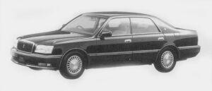 Toyota Crown Majesta C TYPE 1996 г.